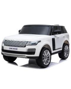 Range Rover elektrische kinderauto 2 zits wit