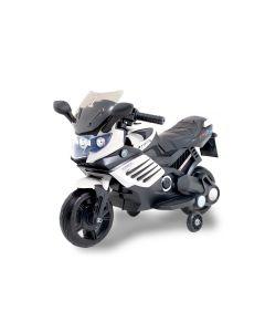 Kijana elektrische kindermotor superbike zwart-wit