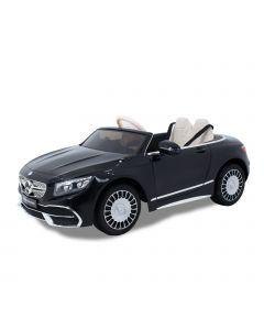 Mercedes Maybach elektrische kinderauto S650 cabrio zwart