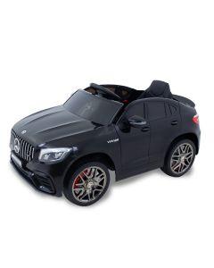 Mercedes elektrische kinderauto GLC63s zwart