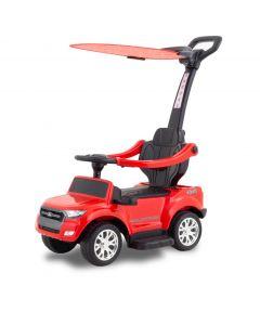 Ford loopauto met zonnescherm Ranger rood
