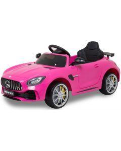 Mercedes elektrische kinderauto GTR roze