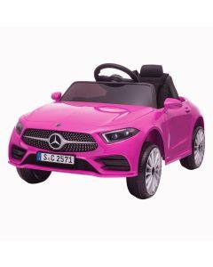 Mercedes elektrische kinderauto CLS350 roze