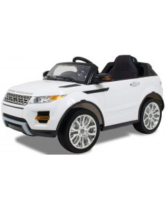 Kijana elektrische kinderauto Rover wit