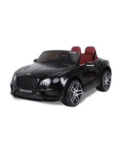 Bentley elektrische kinderauto Continental Supersports zwart