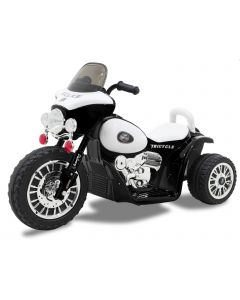 Kijana elektrische kindermotor Wheely zwart
