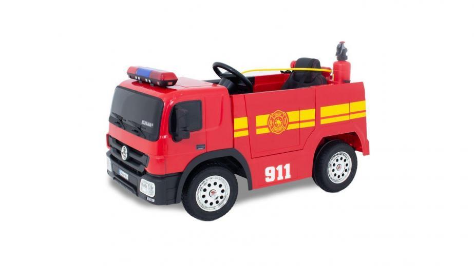 Brandweerwagen en politieauto! De droom van elk kind