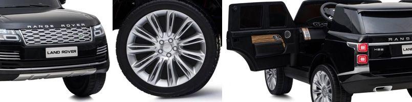 range rover kinderauto 2 zits zwart