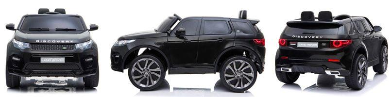 range rover kinderauto zwart
